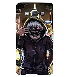 PrintDhaba Scary Face D-4231 Back Case Cover for SAMSUNG GALAXY A5 (Multi-Coloured)