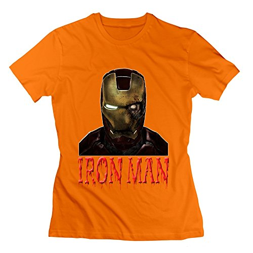 Seico Lady Iron Man Halloween Zombies T Shirts
