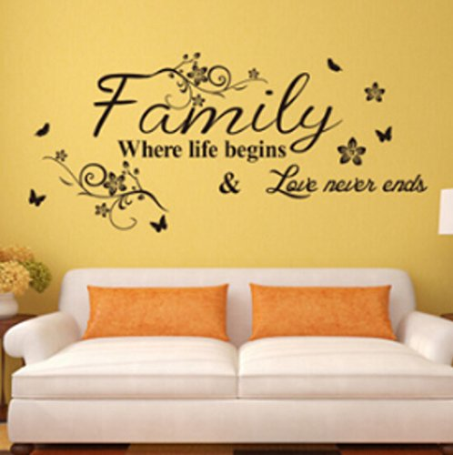 family-where-life-begins-love-never-endsenglish-proverbs-wall-stickers-decor-living-room-wall-sticke