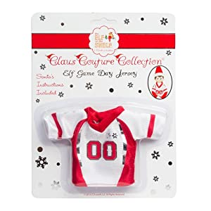 Elf on the Shelf Claus Couture Collection Game Day Jersey