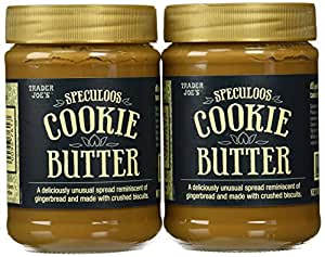 Trader Joe's Speculoos Cookie Butter 14.1 Oz (Pack of 2)
