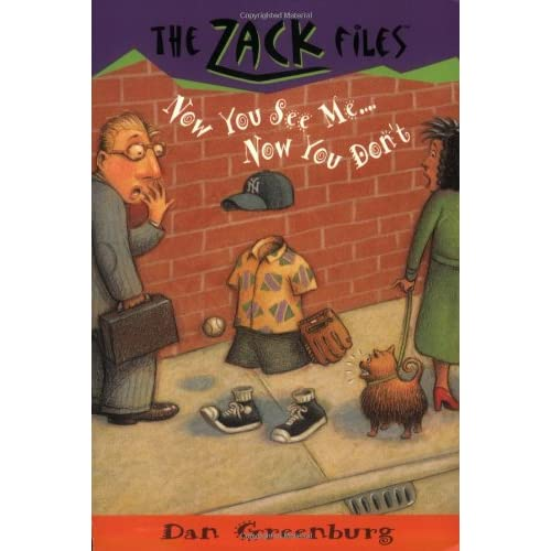 Zack-Files-12-Now-You-See-Me-Now-You-Dont-Greenburg-Dan-Author-Davis-J