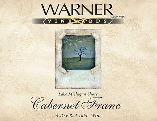 2012 Warner Vineyards Cabernet Franc 750 Ml