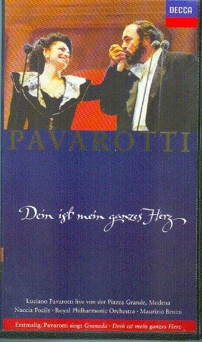 Luciano Pavarotti - Dein ist mein ganzes Herz (Puccini, Mascagni, Bizet, u.a.) [VHS]