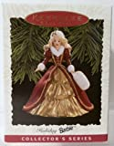 Keepsake Ornament, Holiday Barbie, Collector's Series, Handcrafted, Dated 1996, Sculpted By Patricia Andrews, Fourth in the Holiday Barbie Ornament Series.
