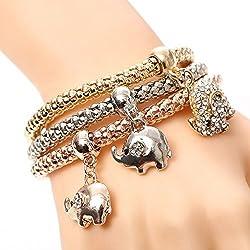 Shining Diva Fashion Stylish Charm Bracelets For Girls