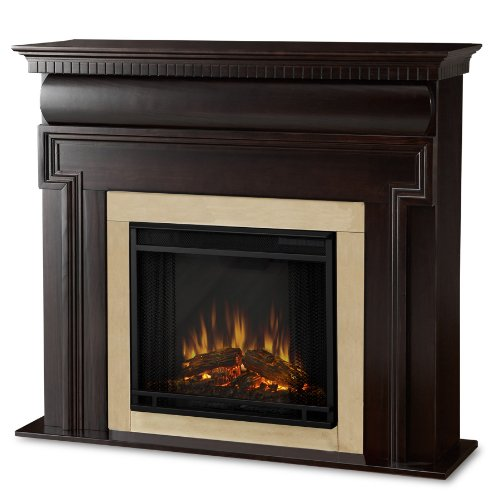 Real Flame Mt. Vernon 6900-X-DW Electric Fireplace in Dark Walnut - MANTEL ONLY picture B00416YYNI.jpg