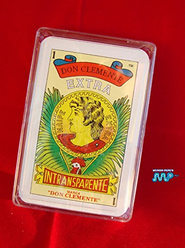Mexican Playing Cards Naipe Spanish Style Don Clemente Extra Classic Since (1887) 100% Guaranteed Supreme Quality (EXTRA)
