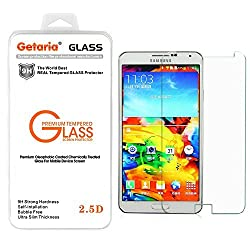 Samsung Galaxy Note 4 Screen Protector, Ultimate Premium Tempered Glass Screen Protector for Samsung Galaxy Note 4