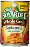 Chef Boyardee Whole Grain Beefaroni,...