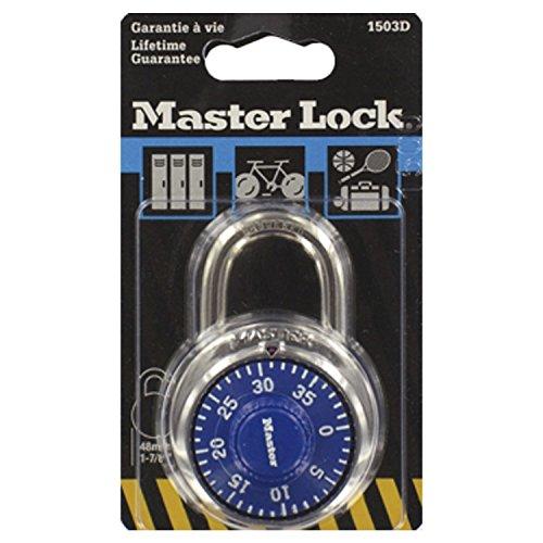 Master-Lock-Rundes-Zahlenschloss-48-mm-Farblich-sortiert-1503EURD