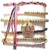 CAT HAMMILL ( キャットハミル ) オーストラリア の デフォルメ 馬の蹄 チャーム ブレスレットセット coco bracelet set ブレスレット ひづめ ゴールド ポーチ ゲット 海外 ブランド