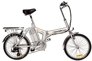 Urban Mover Terrain Folding Electric Bike (26-Inch Wheels)