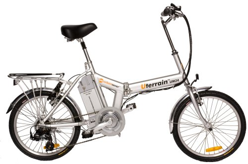 Urban Mover Terrain Folding Electric Bike (26-Inch Wheels)