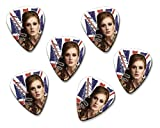 Adele 6 X Loose guitar Picks ( Flag Design )