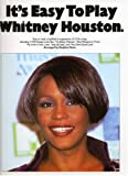 Various IT'S EASY TO PLAY WHITNEY HOUSTON PVG