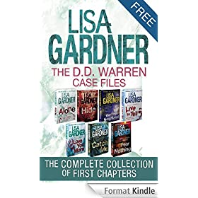 The D.D. Warren Case Files (A Free Sampler) (English Edition)