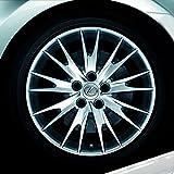 【ノーブランド品】車 ホイール タイヤ ネジ 保護 ボルト カバー ナット キャップ ラグ 17mm 黒 20個