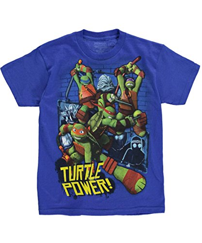 "Teenage Mutant Ninja Turtles Big Boys' ""Turtle Power Attacks"" T-Shirt"