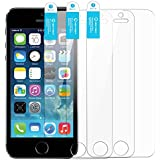iPhone 5s Screen Protector iPhone 5 Screen Protector New Trent Arcadia Premium High Quality Thin Clear Transparent Screen Protector, Compatible with Apple iPhone 5s, iPhone 5, iPhone 5c (3-pack)