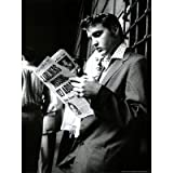 (18x24) Elvis Presley Reading Sundary Mirror Music Poster Print Amazon.com