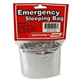 Emergency Sleeping Bag, Survival Bag, Emergency Zone® Brand, Reflective Blanket