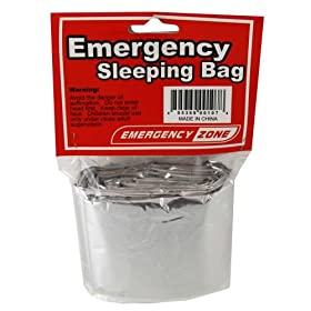 Emergency Sleeping Bag, Survival Bag, Reflective Blanket