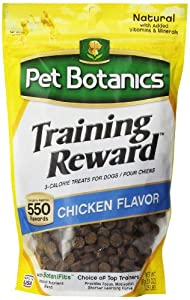 Cardinal Laboratories Botanic Training Rewards Treats for Dogs, Chicken, 20-Ounce