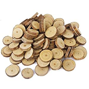 Amazon.com: Nuolux Wood Log Slices Discs for DIY Crafts