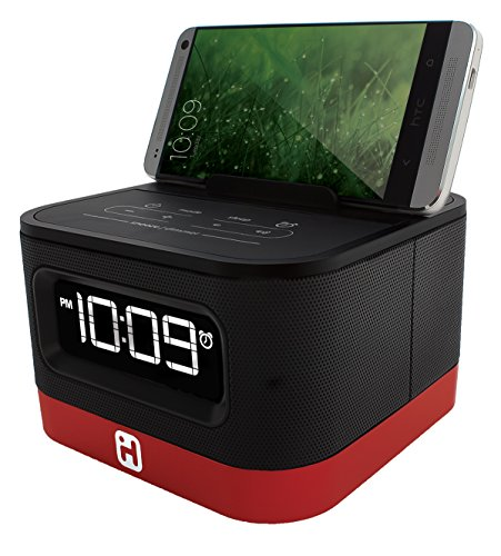 iHome Space Saver Stereo Alarm Clock