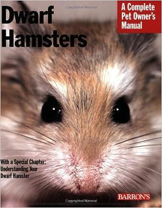 Dwarf Hamsters (Complete Pet Owner's Manual) written by Sharon Vanderlip