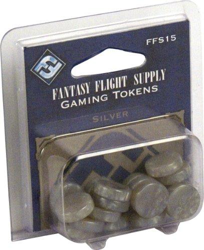 Gaming Tokens: Silver - 1