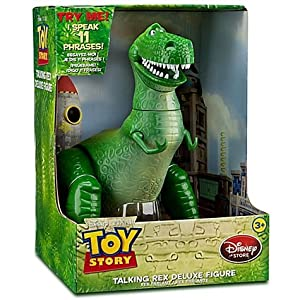 Disney Pixar Toy Story Deluxe Talking Rex 12