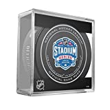 2015 NHL Stadium Series Levis Stadium Official Game Puck in Cube - Kings vs. Sharks