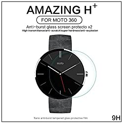Nillkin H+ Anti Explosion Tempered Glass Tough Screen Guard Protector For Moto 360 Smart Watch