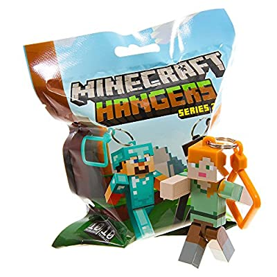 Official Minecraft Exclusive ALEX Toy Action Figure Hanger from MOJANG
