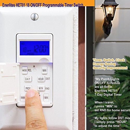 Enerlites het01 programmable timer switch for fan light motor 7 enerlites het01 programmable timer switch for fan light motor 7 day 18 onoff aloadofball Images