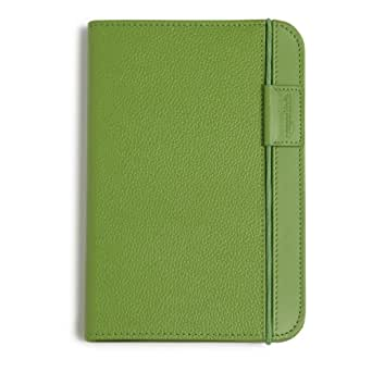 Kindle Leather Cover, Apple Green, Updated Design (Fits Kindle Keyboard) - Like New Condition