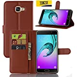 Taslar(TM) Samsung Galaxy A9 Pro (2016) Leather Wallet Magnetic Clip Stand Flip Back Cover Case For Samsung Galaxy...