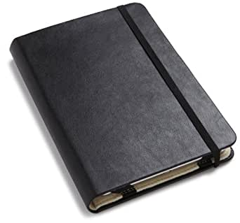 "Moleskine® Kindle Cover with Reporter-Style Notebook (Fits 6"" Display, 2nd Generation Kindle) Black"