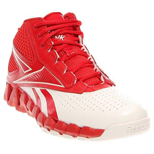 Reebok Zig Pro Future Women's Basketball Shoe (A9.5, White/Red)