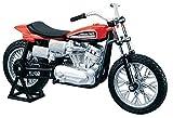 Maisto 1972 XR750 Racing Bike Harley Davidson Die Cast Motorcycle 1 18 Scale by Maisto 1 18 Harley Davidson