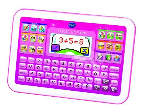 VTech - Tablet Little App, pantalla color, color rosa (3480-155257)