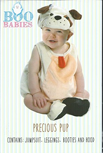 Boo Babies Halloween Costume Precious Puppy Dog Sz 9-18 Months 4 Pieces Beige