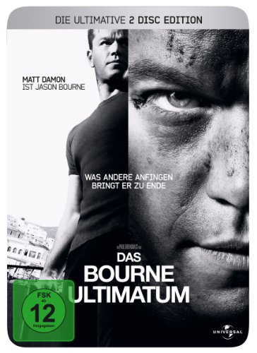 Das Bourne Ultimatum - Ultimate Edition (2 DVDs im Steelbook)