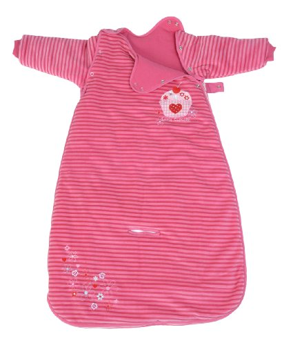 LIMITED OFFER! The Dream Bag Baby Sleeping Bag Long Sleeved Travel Cupcake 6-18 Months 3.5 TOG - Pink