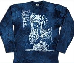 Yorkshire Terrier Dog Sweater 100% Cotton Size S by Tashuunka