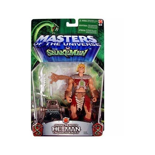 Buy Low Price Mattel Masters of the Universe vs. The SnakeMen Snake Hunter He-Man Action Figure (B0006OBR5W)