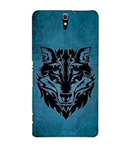 Fuson Premium Back Case Cover Patterend lion With black Background Degined For Sony Xperia C5 Ultra Dual::Sony Xperia C5 E5553 E5506::Sony Xperia C5 Ultra