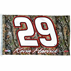 NASCAR Kevin Harvick 3-by-5 Realtree Foot Flag by WinCraft